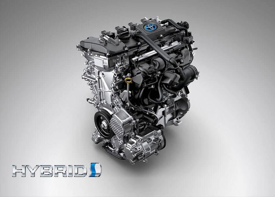Động cơ Hybrid trên Corolla Cross 2021