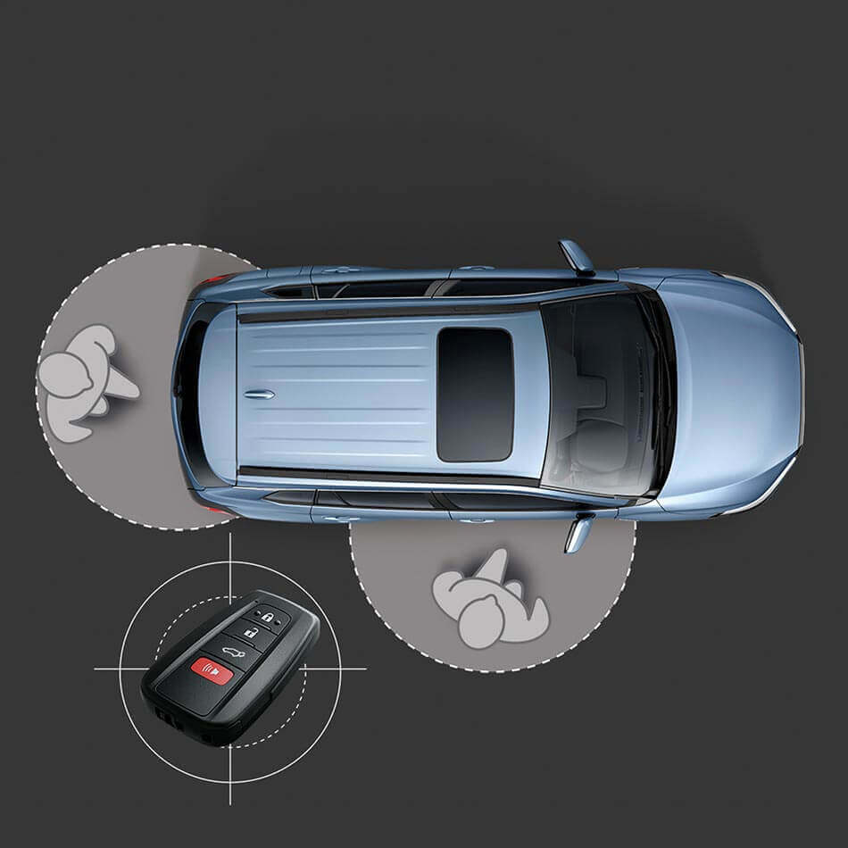 Chìa khóa Thông minh trên Corolla Cross