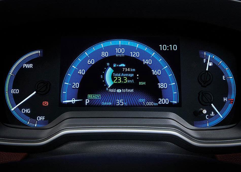 Màn hình Optitron sang trọng và cao cấp trên Corolla Cross 2020